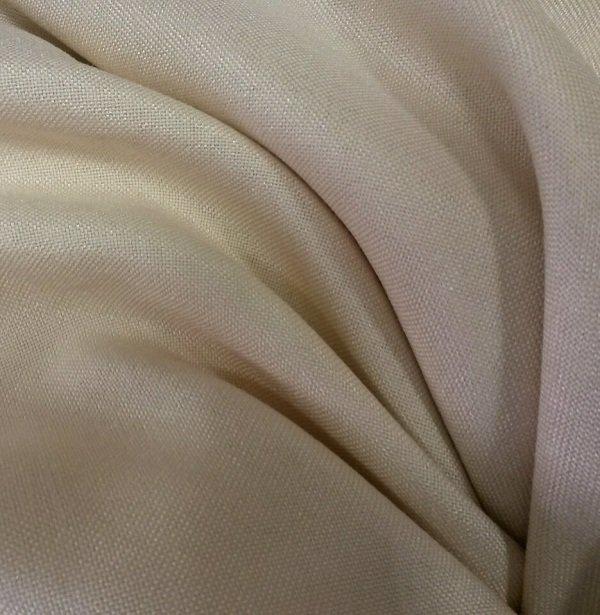 fe9c187fbaa7 Ткань для штор под лен Темно-молочный